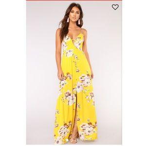 The Sun City Floral Dress